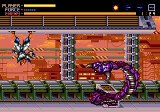 Alien Soldier Genesis screenshot