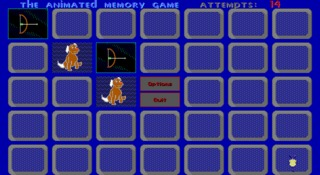 Animated Memory Game