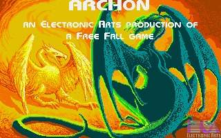 Archon: The Light and the Dark Amiga screenshot