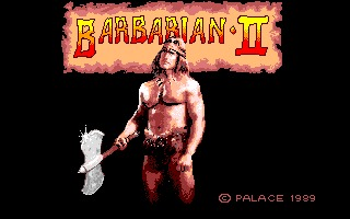 Barbarian II: The Dungeon of Drax Amiga screenshot