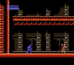 Batman: The Video Game NES screenshot