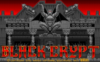 Black Crypt Amiga screenshot
