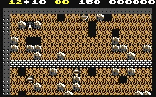 Boulder Dash - Commodore 64