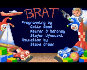 Brat Amiga screenshot