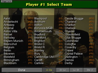 Championship Manager 97/98 DOS screenshot