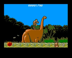 Chuck Rock Amiga screenshot