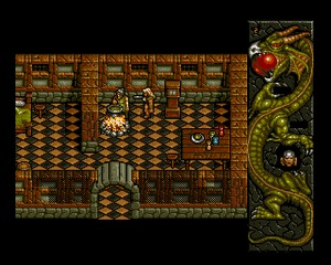 Dragonstone Amiga screenshot