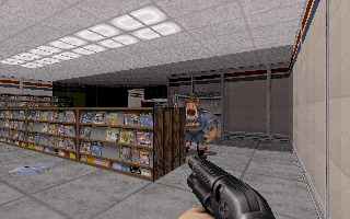 Duke Nukem 3D DOS screenshot