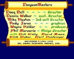 Dungeon Master (Amiga) Game Download