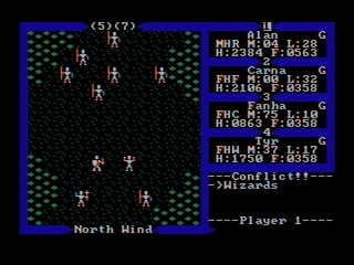 Ultima III: Exodus DOS screenshot