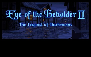 Eye of the Beholder II AGA Amiga screenshot
