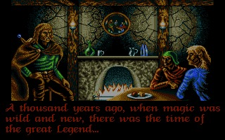 Legend Amiga screenshot