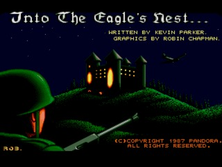 Into the Eagle's Nest Amiga screenshot