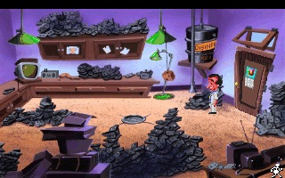 Leisure Suit Larry 5 DOS screenshot