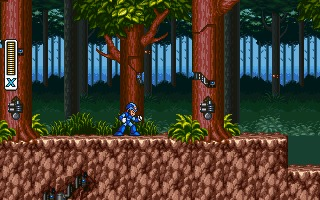 Mega Man X DOS screenshot