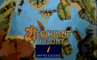Merchant Colony DOS screenshot