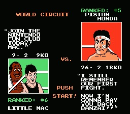 Mike Tyson's Punch-Out!! - NES