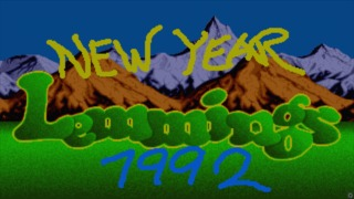 New Year Lemmings 91-92