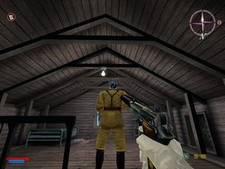 No One Lives Forever 2: A Spy in H.A.R.M.'s Way Windows screenshot