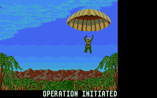 Operation Wolf Amiga screenshot