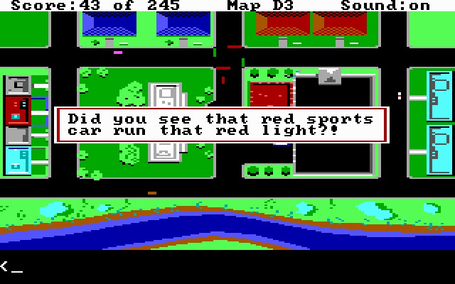 Police Quest: In Pursuit of the Death Angel - DOS