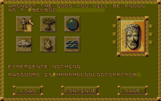 Populous II: Trials of the Olympian Gods Amiga screenshot