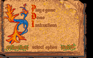 Questron II Amiga screenshot