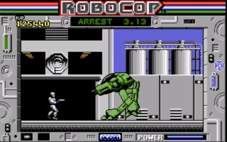 RoboCop Amiga screenshot
