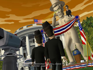 Sam & Max Episode 4: Abe Lincoln Must Die! Windows screenshot