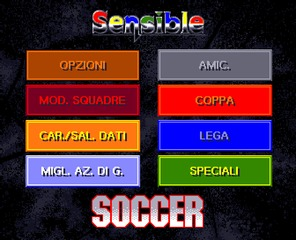 Sensible Soccer Amiga screenshot