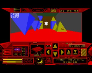 Driller Amiga screenshot