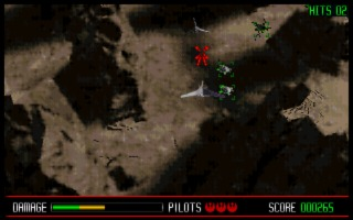 Star Wars: Rebel Assault DOS screenshot