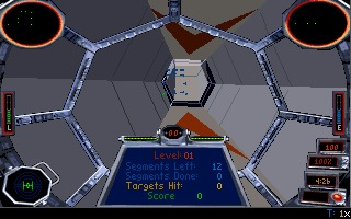 Star Wars: TIE Fighter DOS screenshot