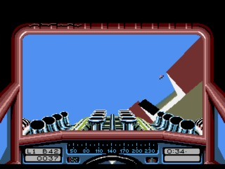 Stunt Car Racer Amiga screenshot