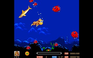 Toki Amiga screenshot
