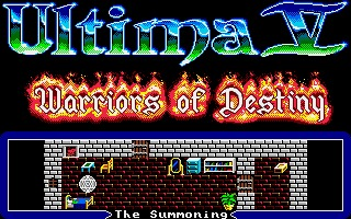 Ultima V: Warriors of Destiny