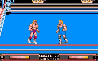 WWF Wrestlemania Amiga screenshot