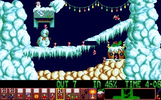 Xmas Lemmings 1992